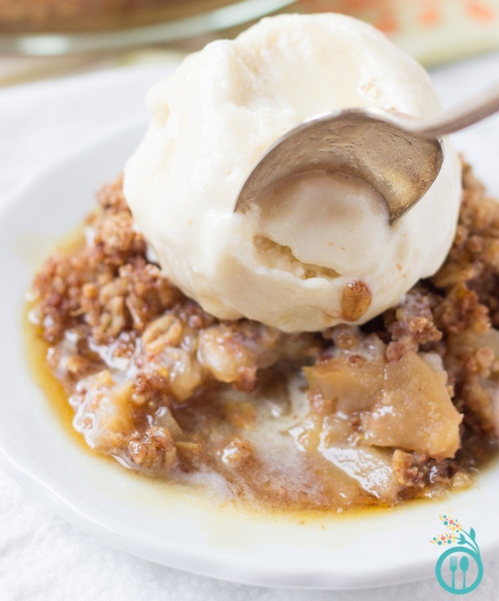 best apple recipes for weight loss - pear and apple crisp