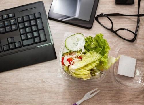Salad desk keyboard