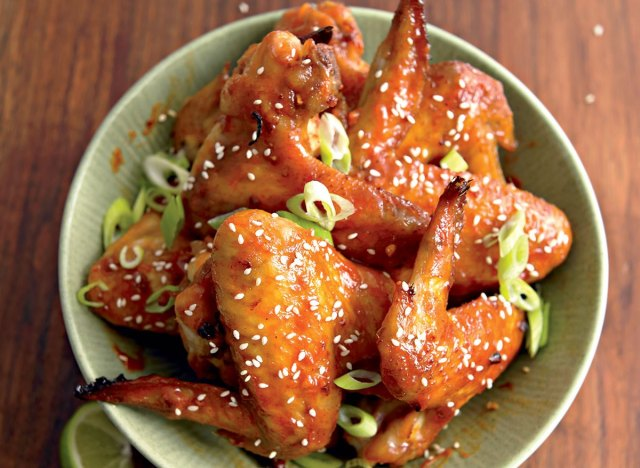 Healthy beijing wings