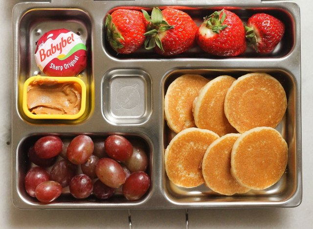 mini pancake bento box