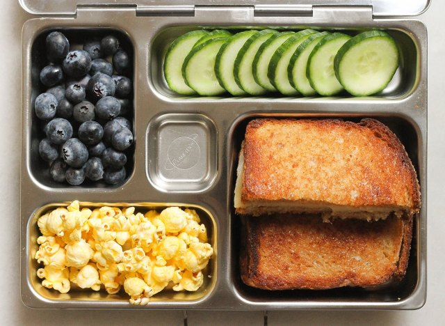 grilled cheese bento box