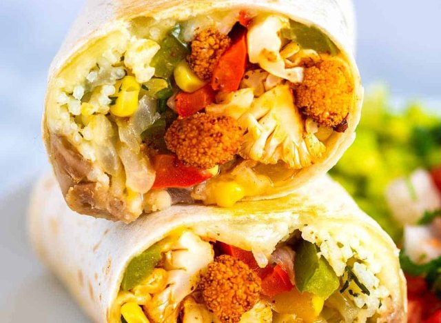 veggie burrito recipe