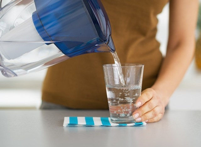 drink water over 40 tip