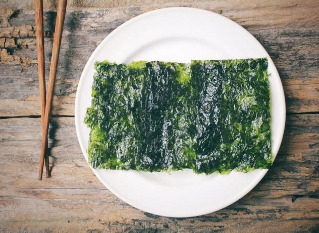 eat seaweed over 40 tip