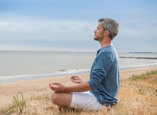 try meditation over 40 tip