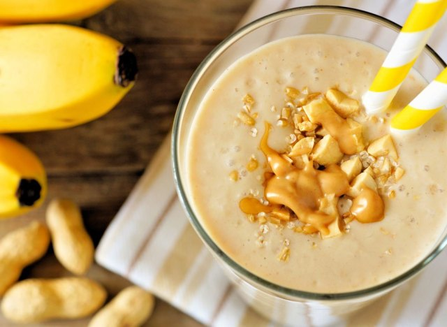 Peanut butter banana smoothie