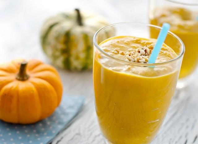Pumpkin sweet potato smoothie