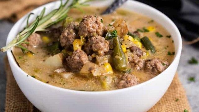 campbell's soup recipes hamburger soup