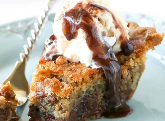 Chocolate chip pie recipe from The Girl Who Ate Everything