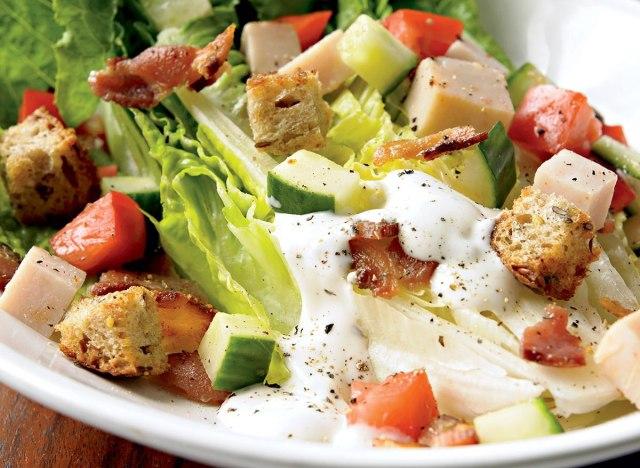 Turkey blt salad