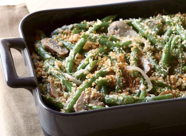 Vegetarian green bean casserole