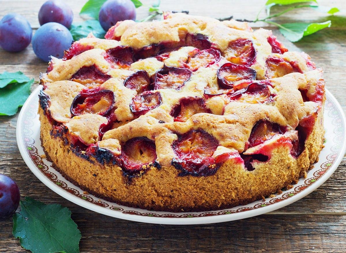 plum torte nostalgia food