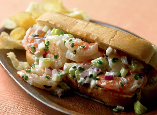 Paleo shrimp rolls