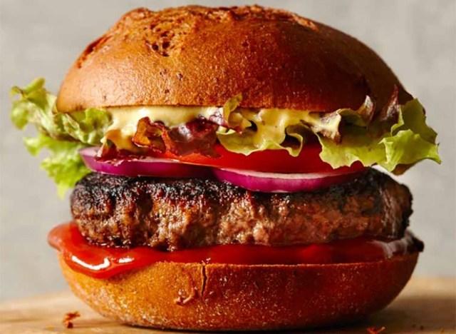 Zero Belly Cookbook recipe Classic Beef Burger