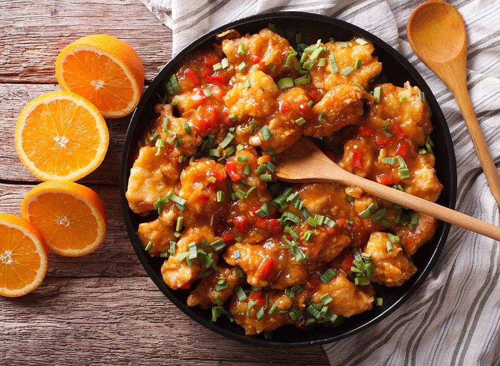 orange chicken chinese