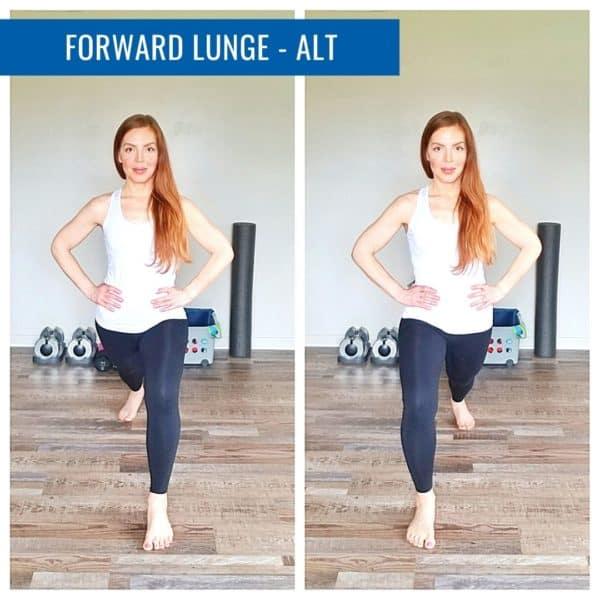 Forward Lunge Alt Runner