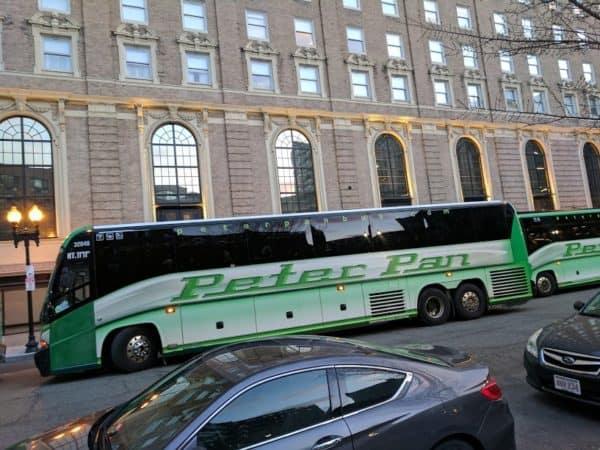 Boston Marathon cancelled 2020 start line bus