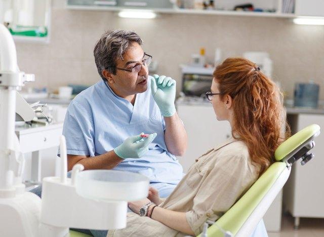 dentist consultation
