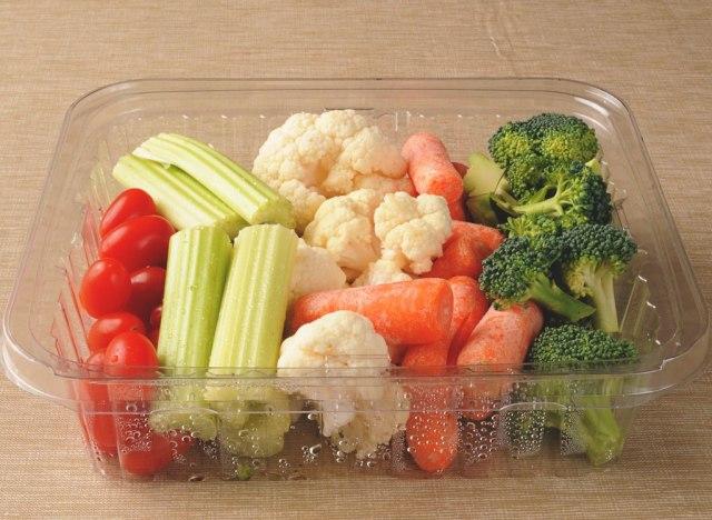 Pre cut store bought veggies
