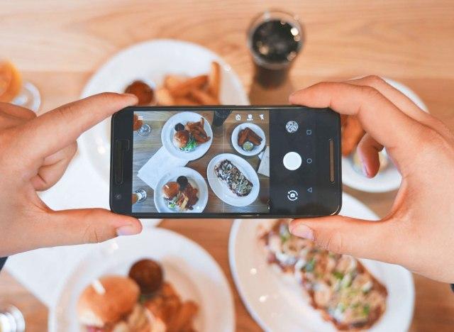 Instagram dinner