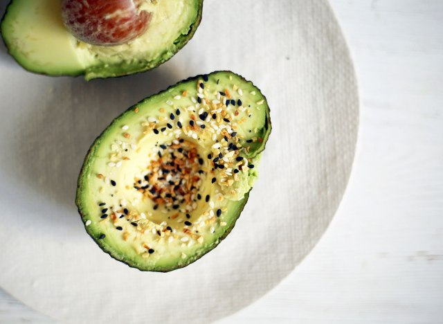 everything bagel avocado