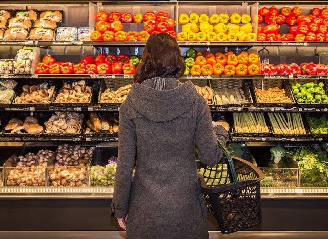 produce shopping