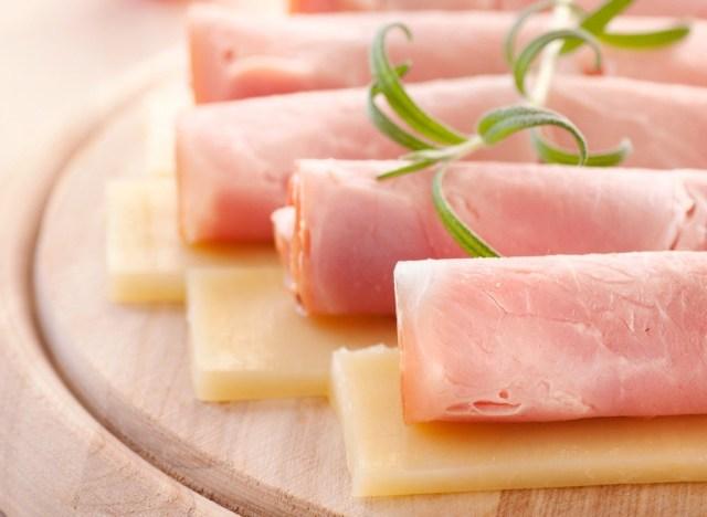 Turkey slices cheese
