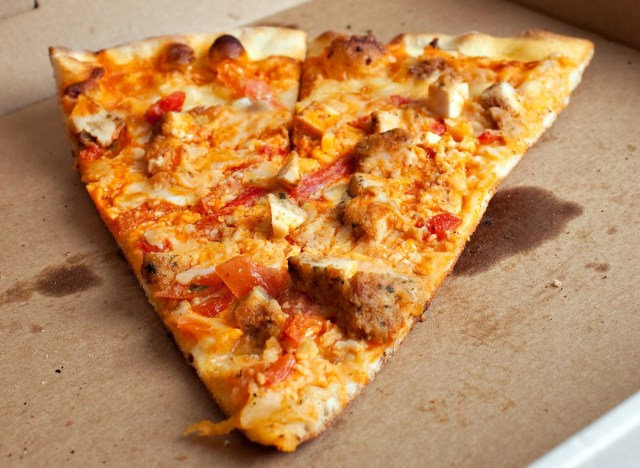 leftover pizza slices