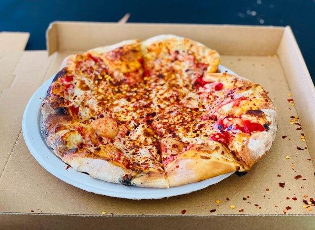 pizza chili flakes