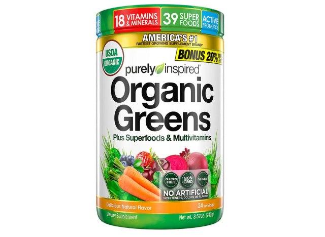 organic greens multivitamins