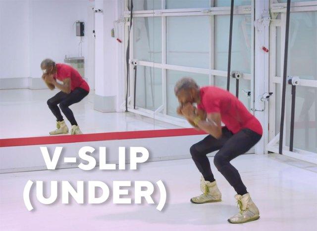 v-slip under