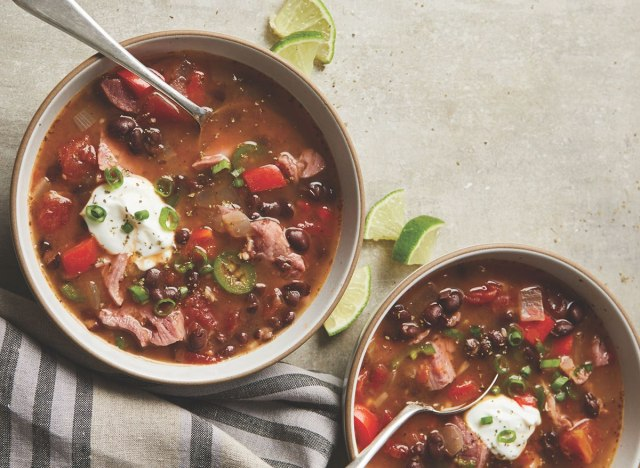 cuban tomato and black bean soup