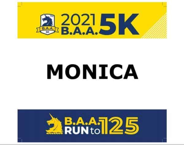 Boston Marathon Virtual 5K Recap