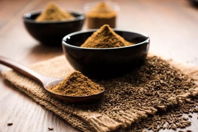 Ground Cumin Seeds and Jeera Powder