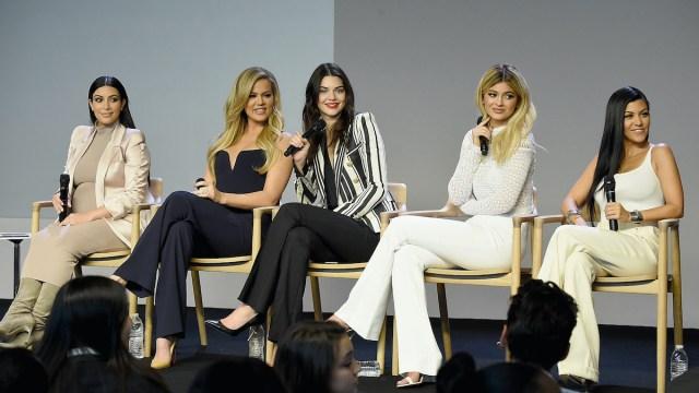 Kim Kardashian, Kourtney Kardashian, Khloe Kardashian, Kendall Jenner and Kylie Jenner