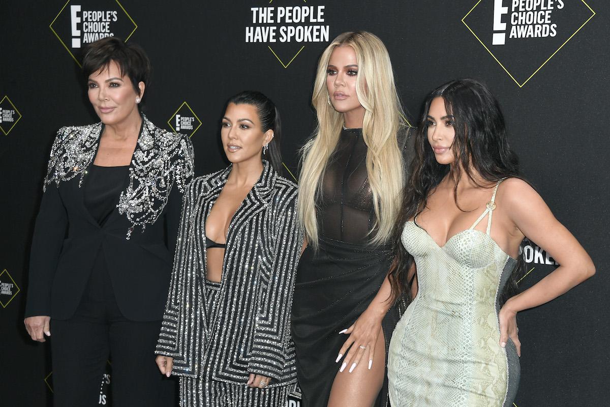 Kardashians red carpet