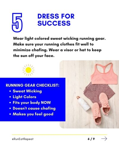 7 Summer Running Hacks Run Fitness Influencer RunEatRepeat.com